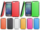 TPU + Plastic Hybrid Skin Case Cover Built in Screen Protector For iPhone 6