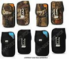 """Pouch Holster w/Metal Belt-Clip iPhone 6 4.7"""" FOR Lifeproof Fre Nuud Case On It"""