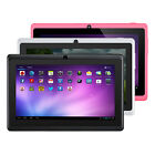 7 Dual Core Google Android 4.4 KitKat Tablet PC 8GB A23 1.5GHz Dual Camera WiFi
