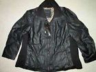 NEW Therapy Faux Leather Biker Winter Jacket SIZE 3x 22 24 Black or Brown