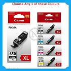 Any 1x Canon PGI650XL/CLI651XL HY Genuine Ink-  MG5460/MG5560/MG6460/MX726/MX926