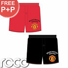 Boys Official Man United Football Club Boxer Shorts 2 Pack Underwear Ages 5-12