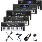 Yamaha Electric Portable Keyboard PSRE 343 443 650 Digital Piano Double XX Stand