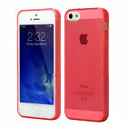Slim TPU Clear Silicone Gel Rubber Soft Skin Case Cover For iPhone 4/4S