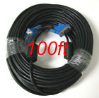 15 PIN Blue SVGA SUPER VGA Monitor M-M Male To Male Cable CORD FOR PC TV Blue