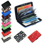 Pocket Waterproof Business ID Credit Card Wallet Holder Aluminum Metal RFID Case