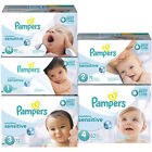 Pampers Swaddlers Sensitive Diapers Best Care Size N, 1, 2, 3, 4 CHEAP!!!