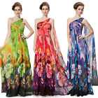 Ever Pretty Long Chiffon Print Evening Party Summer Maternity Beach Dress 08395
