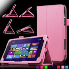 Slim Folio PU Leather Case Cover Stand for Dell Venue 8 pro 5830 Tablet