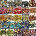 144pc ss32 7mm facefed Czech Crystal foiled Rhinestones beads Pointed Back Y-pk