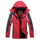 ❤CAMPING❤Men Outdoor Sports Coats HIKING Casual Waterproof Hooded Jacket OutWear