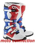 NEW 2015 ALPINE STARS TECH 5 MOTOCROSS BOOTS WHITE/RED/BLUE  FREE DELIVERY
