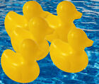KIDS PLASTIC YELLOW DUCKS PET TOY CHARITY GIFT BAG PARTY BATH GARDEN POND 7cm