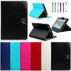 "Classical Universal For 10'' 10.1"" inch Tablet PC Folio Leather Case Stand Cover"