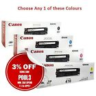 Any 1x Genuine Canon CART418 BK/C/M/Y Toner-> MF8350CDN/MF8380CDW/MF8580CDN