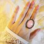 occident fashion upscale colour bright oval gemstone charm finger ring