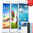 """New 5.5"""" Dual Sim Android 4 Smartphone Dual Core Unlocked 3G T-Mobile Cell Phone"""