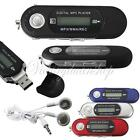 2 4 8GB USB 2.0 Flash Drive LCD Mini MP3 Player with FM Radio And Voice Recorder
