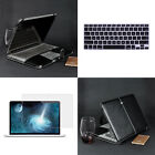 PU Leather Laptop Sleeve Bag Keyboard Cover For Macbook Air Pro Retina 11/13/15