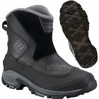 Columbia Boots Men Bugaboot Slip Waterproof Black Pull-on Snow Winter Insulation