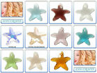 Swarovski Crystal Pendant 6721 Starfish *All Sizes* *Many Colours*