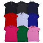 Polo Ralph Lauren Polo Shirt Womens Classic Fit Mesh Short Sleeve Pony Logo New