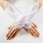 Beautiful Satin & Lace Gloves - FREE 1ST CLASS POSTAGE!