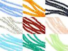 200x Size 3mm Faceted Rondelle Crystal Cut Glass Small Spacer Beads