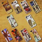 Stylish Retro Vintage Hard Case Cover Fits iPhone 5 5G Free Screen Protector