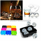 1 Pc New Round Ice Balls Tray FOUR Large Sphere Molds Cube Whiskey Cocktails