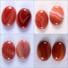 30mm Two banded red agate cab cabochon Each item pictured