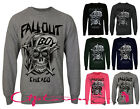 NEW WOMEN LADIES CHICAGO FALLOUT BOY SKULL SWAG HIPSTER SWEATSHIRT JUMPER 8-14