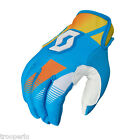 SCOTT GLOVE 350 KIDS RACE OFF ROAD MX DIRT BIKE ENDURO MOTORCYCLE BLUE/YELLOW