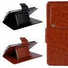 Folding Leather Flip Case Cover Wallet Pouch Skin For Cubot Smartphone