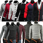 2014 Mixed Mens Casual Knitted Cardigans Jumpers Pullover Sweats Hoodie Sweaters