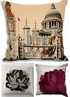 Retro Scatter / Cushion Covers Vintage Square 43 x 43cm Jacquard Material TRENDY