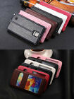 Luxury S View Window Leather Flip Cover Stand Case for Samsung Galaxy S5/Note 4