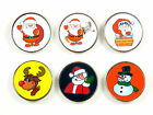 Ladies Christmas Golf Ball Markers