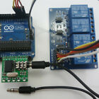 DTMF Arduino Sample Code Decoder Controller 4 Channels Outputs Relay Audio UART