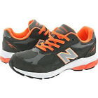 [New Balance] Gray Orange Color Running Shoes Sneakers(KJ990GOG)