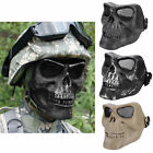 Military Hunting War Game Skull Skeleton Mask Full Face Protect Gear Mask Guard