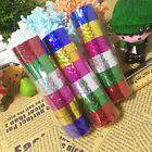 6/12PCS Glitter Laser Prism Washi Paper Decorative Adhesive Sticky Masking Tape