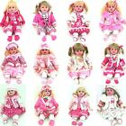 56cm Dressed Life Like Doll Baby Pink White Girlie Clothes Soft Cuddly Body