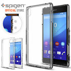 Genuine Spigen Ultra Hybrid Soft Bumper+Hard Case Cover for Sony Xperia Z3