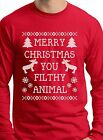 Merry Christmas You Filthy Animal Funny Christmas Gift For Guys Home Alone Movie