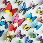 Cute Living 12pcs 3D Butterfly Wall Stickers Home Room Decoration Art DIY Decal