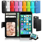 NEW Wallet Flip Leather Stand Card Case Cover for Apple iPhone 7 Plus 7 6S 6