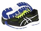 ASICS GEL-Flash Shoes Running low-profile mesh black multi men's size 7, 9.5 NEW