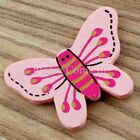 Wooden Painted Butterfly Stick On Embellishment