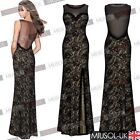 Ladies Long Prom Formal Evening Party Ball Gown Bridesmaid Dress Size 6810121468